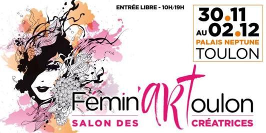 SALON FEMIN'ART PALAIS NEPTUNE A TOULON
