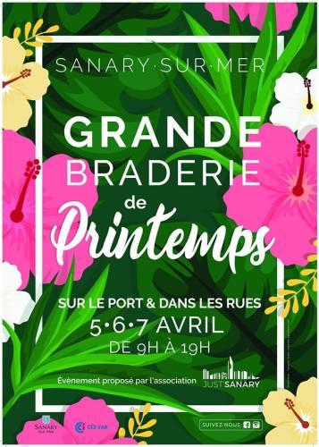 GRANDE BRADERIE DE PRINTEMPS DE SANARY