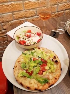 SUPERGUSTO COMBO SALADE ET PIZZA