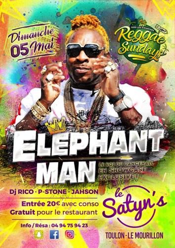 showcase dancehall elephant ma au restaurant le satyn s