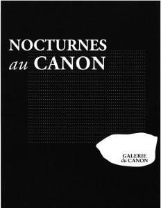 NOCTRUNES A LA GALERIE DU CANON A TOULON