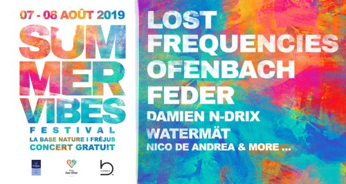 SUMMER VIBES FESTIVAL A FREJUS