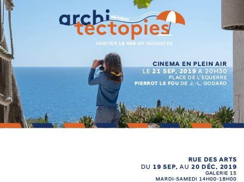 ARCHITECTOPIES CINEMA EN PLEIN AIR PIEEROT LE FOU TOULON