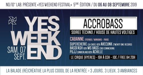 FESTIVAL YES WEEK END ACCROBASS TOULON