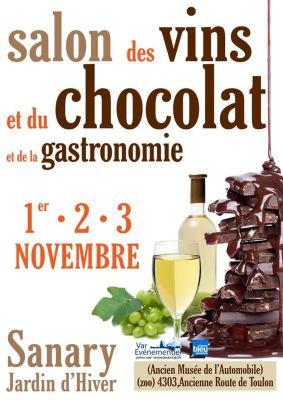 19ème Salon des Vins, du Chocolat et de la Gastronomie à Sanary