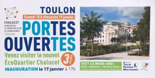 Portes ouvertes Ecoquartier Chalucet à Toulon