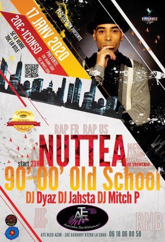 Soirée Hip-Hop , R'n'B avec Nuttea en showcase à La Crau