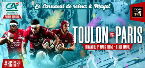 RCT STADE FRANCAIS A MAYOL TOULON