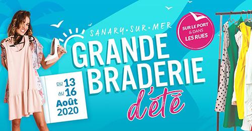 LA GRANDE BRADERIE D'ETE SANARY JUST'SANARY