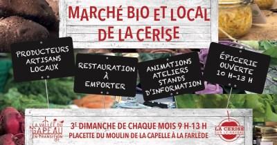 Marché Bio et Local de la Cerise