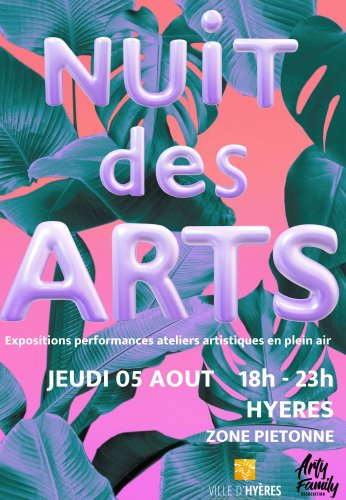 NUIT DES ARTS A HYERES