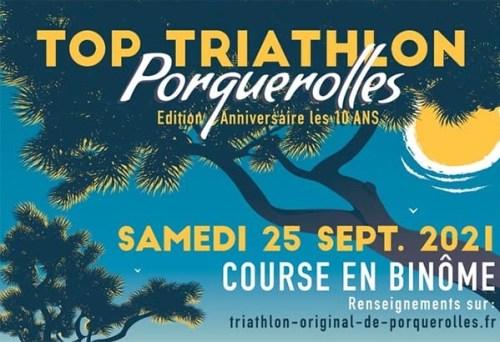 TOP TRIATHLON DE PORQUEROLLES