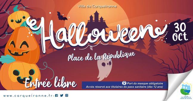 Fêter Halloween à Carqueiranne