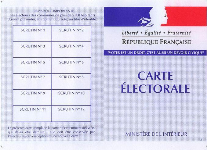 inscription listes électorales