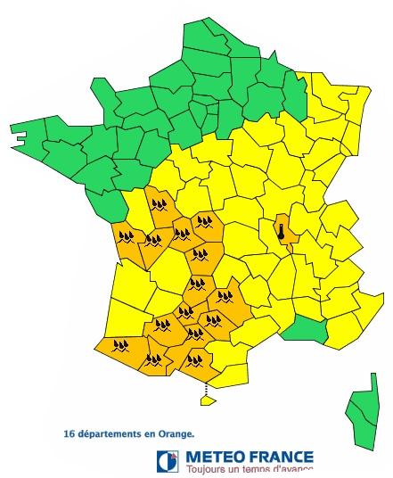 Pluies Inondations Alerte Météo Toulouse Haute Garonne Gers Tarn Hautes Pyrénées