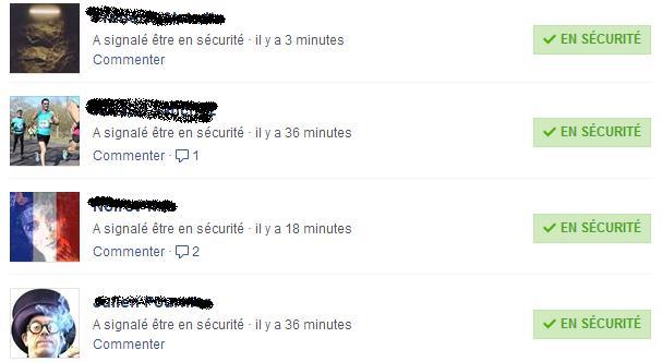 Bruxelles sécurité Facebook