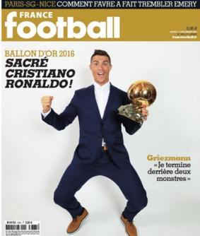 Ronaldo, Messi et Griezmann meilleurs jours du monde