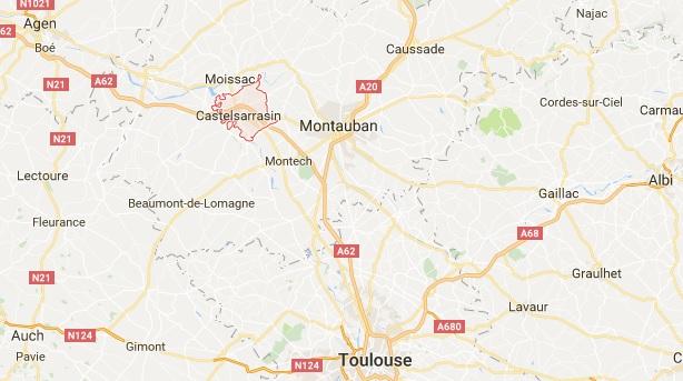 Un mort dans un accident de la route non loin de Castelsarrasin