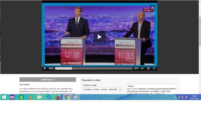 Trois intox repérées lors du débat de la primaire à gauche