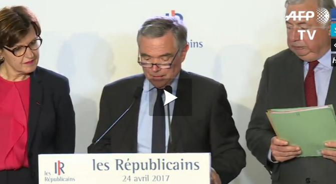 Les Républicains appellent à voter contre Marine Le Pen