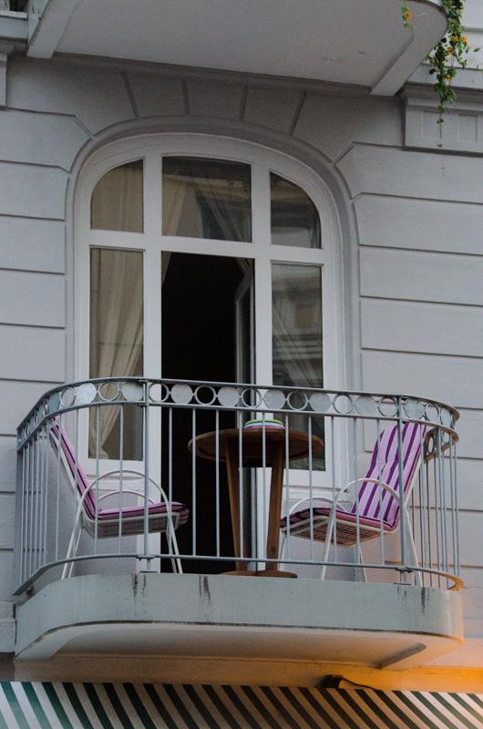 Balkonleben