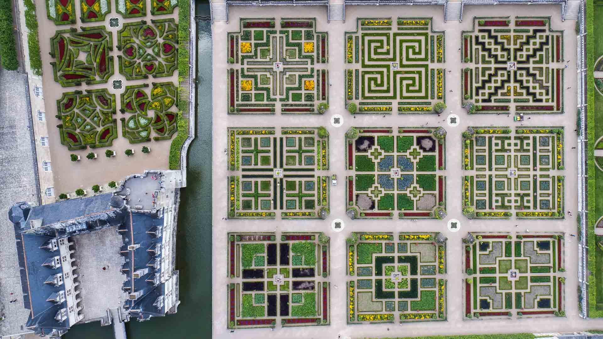 Parcs Et Jardins Chteaux De La Loire En Touraine Val De