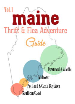 Free Maine thrift and flea market guide Vol. 1