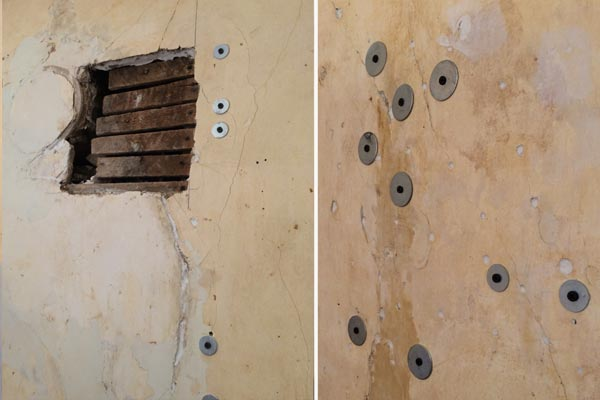 dining room wall repairs