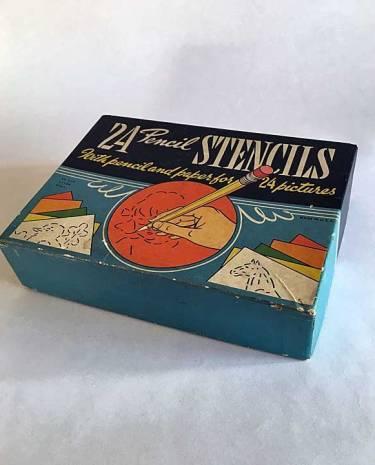Vintage Pencil Stencil kit