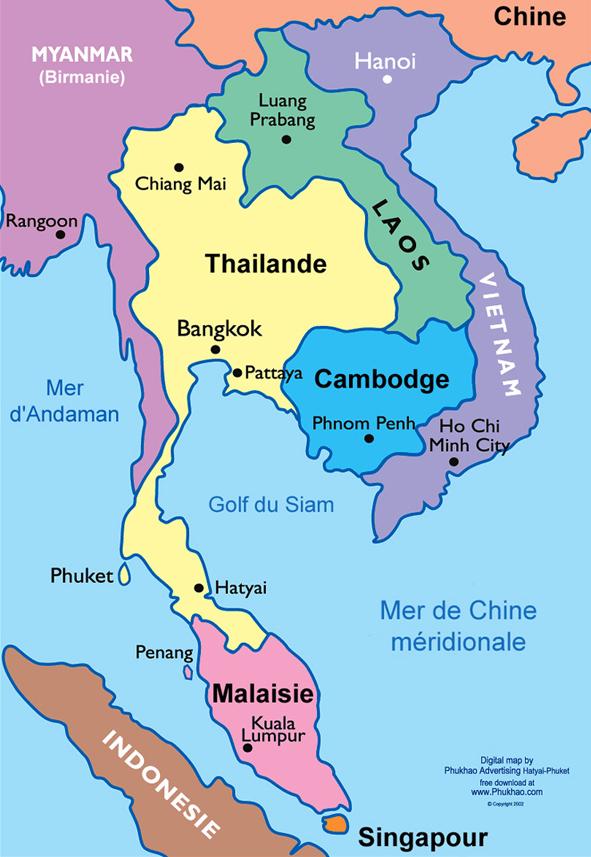 Asie sud est (contemporain)