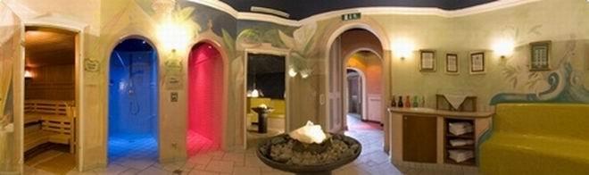 Saunawelt im Wellness-Schloss