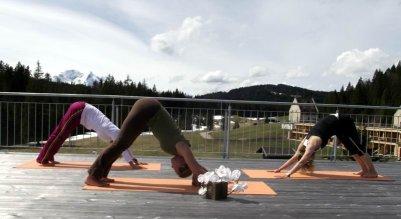 Yoga mit Veronika im Das Kransbach