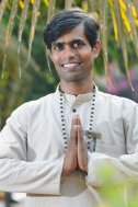 Krishna indischen Yoga-Lehrer