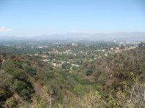 Blick von den Hollywood Hills / Los Angeles