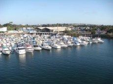 Yachthafen in der San Diego Bucht