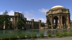 Palace of Fine Arts - Exploratorium in San Francisco