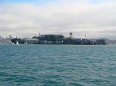 Alcatraz in der Bucht von San Francisco