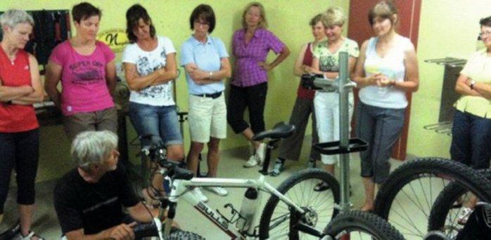 Biken, Yoga und Pilates 6