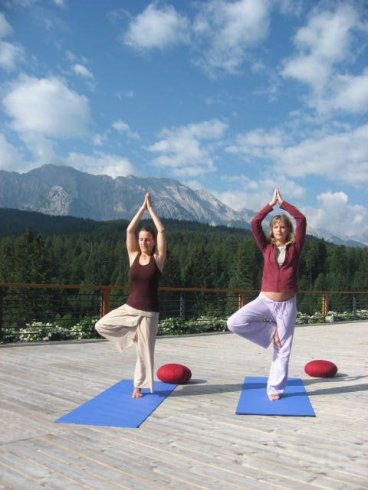 Yoga im Kranzbach - Baum