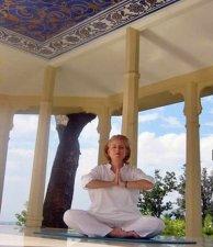 Rishikesh gilt als Metropole der Yoga-Schulen