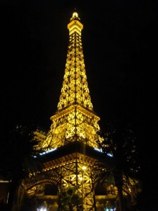 Der Eifelturm auf dem Las Vegas Strip