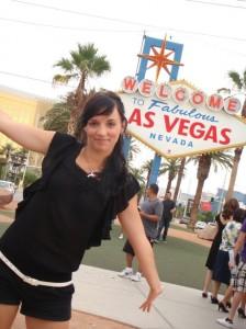 Das Las Vegas Eingangsschild