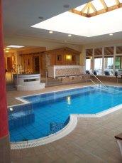 8 Saunabereich im Familienhotel Hochwald