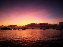 Sonnenaufgang in Tansania