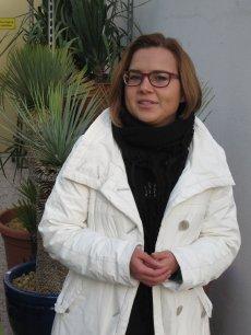 Diplom-Biologin Dr. Kim Beisel vom Kakteenland Steinfeld und vom Deutschen Aloe Zentrum in Steinfeld