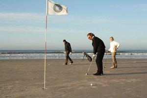 Golfturnier im Meer, ©Foto Lindner Hotels AG