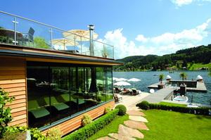 Saunahaus am Hotelstrand, Foto Kollers Hotel