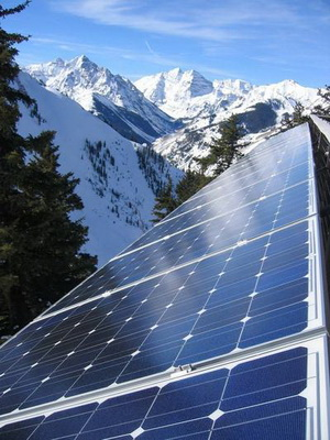 Solaranlage in AspenSnowmass, Copyright AspenSnowmass