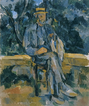 Cézanne, Portrait of a Peasant,© Museo Thyssen-Bornemisza, Madrid