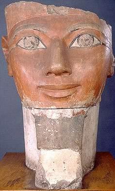The Egyptian Museum Cairo Egypt  Queen Hatshepsut